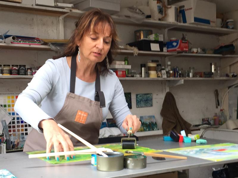Anne in Studio Delgany