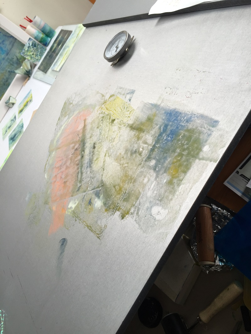 Making Encaustic Overlap