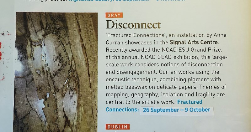 Irish Arts Review Magazine